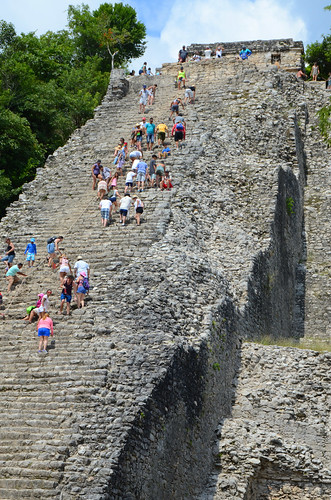 Ixmoja Pyramid, Ancient Maya City of Coba