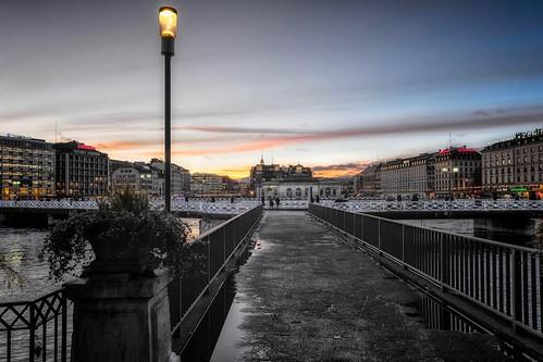 Genève, city centre