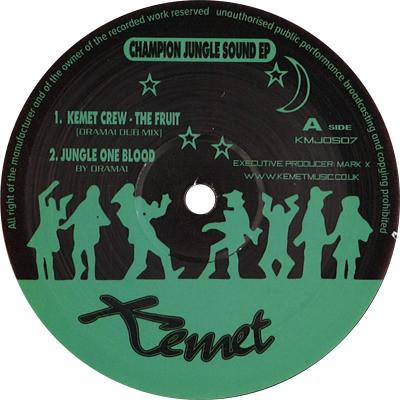[再入荷] KEMET CREW - Champion Jungle Sound EP (12