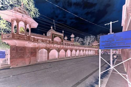 India - Uttar Pradesh - Agra - Fatehpuri Masjid - 1e