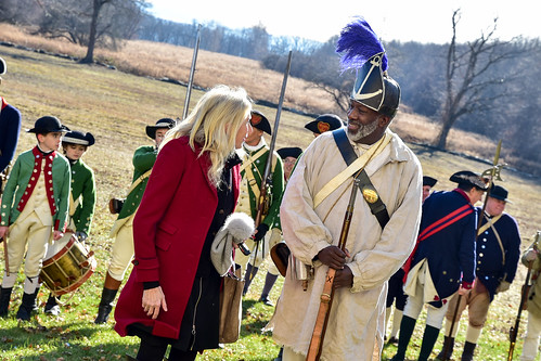 Discussing the history of the first integrated regiment in the Revolutionary War