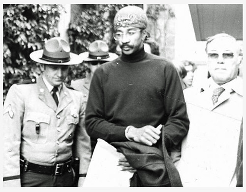 Al-Amin led out of Howard County, Md. courthouse: 1973