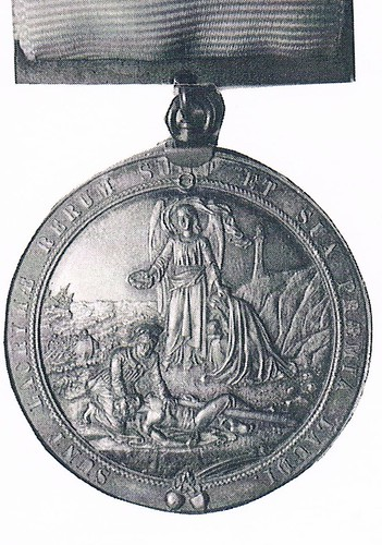 Medal awarded to Captain John George by Shipwreck Relief Society