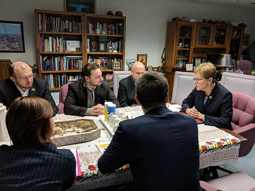 Kaptur welcomes members of Ukrainian Parliament to Toledo, Ohio