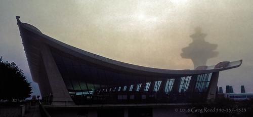 Dulles International Airport Terminal DEC 1978