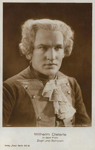 Wilhelm Dieterle in Zopf und Schwert (1926)