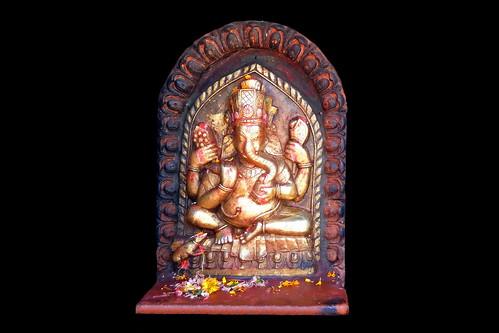 Nepal - Kathmandu - Ganesha - 171d