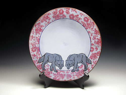 Katie and Andrew Webster, Wolf Plate, 2018