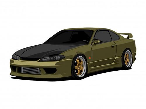 I will draw your car design,realistic, Cartoon, caricature,etc design