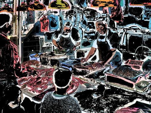 Hongkong - Market - Fish Shop - 53ee