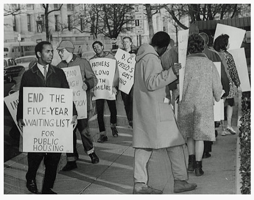 SNCC hits D.C. housing shortage and conditions: 1964