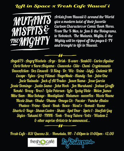 mutants misfits and the mighty