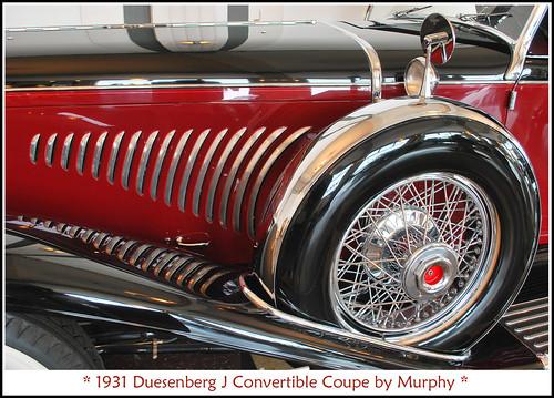 1931 Duesenberg Model J Fifth Wheel