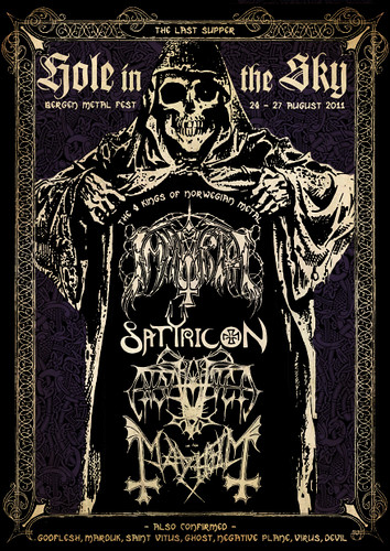 The Last Supper - Hole In The Sky - HITS Bergen Metal Fest with IMMORTAL, SATYRICON, ENSLAVED, and MAYHEM