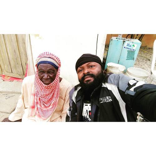Unveiled mask. So that's Mallam and I. Salah things. #mallam #salah #eidmubarak #eid #lagos #bikersofinstagram #bikelife  #biker #festac #festival #fulani #michaelimomohphotography #baba #naijabikerz #naija
