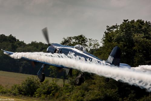 Hawker Sea Fury | Meeting aérien de Cerny-la Ferté-Alais 2014