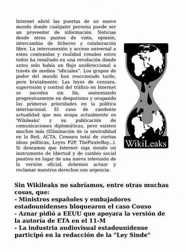 #OperationPaperStorm Operation PaperStorm - Manifiestos en español