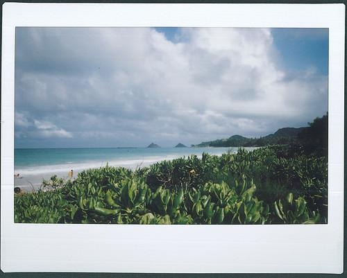 Looking towards Lani Kai from Kalama Beach, Kailua