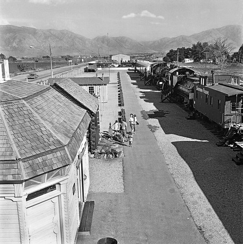 BENJ69-The Corinne Railroad Village Museum,which was located in Corinne,UT.  Sept