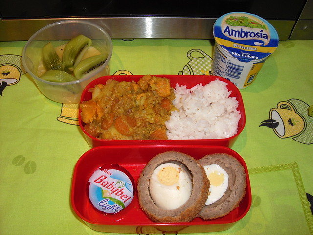 Vegetable Curry Bento