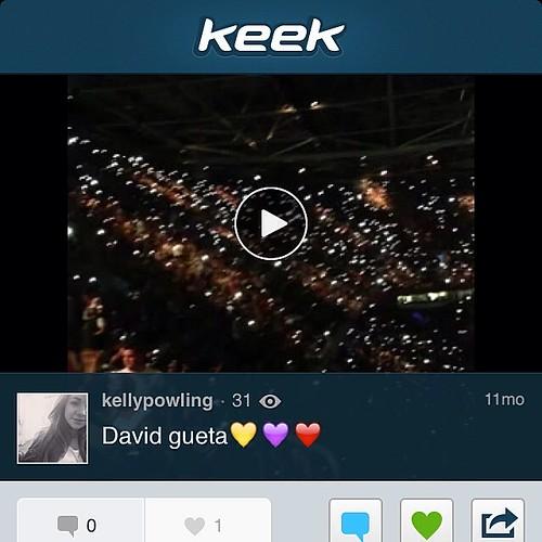 David gueta❤ Compartilhado via Keek
