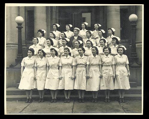 [Johns Hopkins Hospital School of Nursing, class of October 1948]