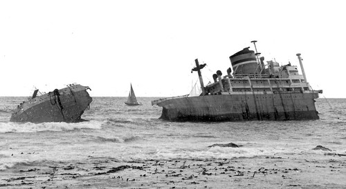 Wreck of the S. A. Seafarer, fifty-three years ago, (1st July 1966)