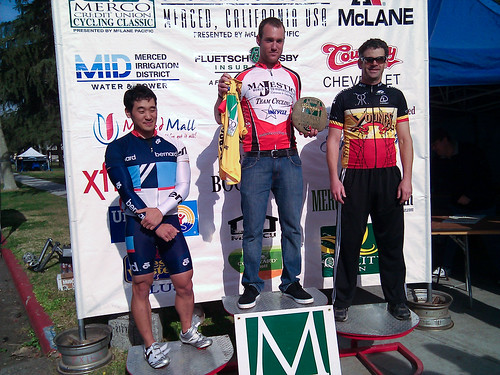 Tim podiums @ Merco Classic crit