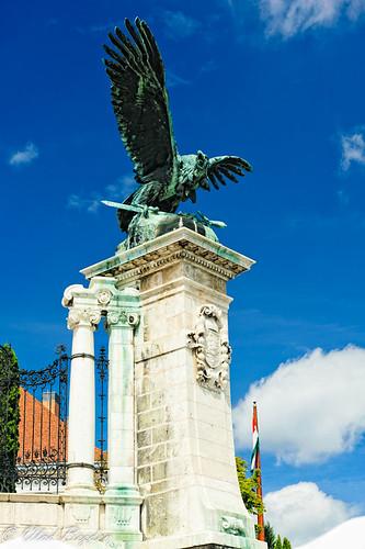 The holy bird of ancient hungarians-Szent Turul