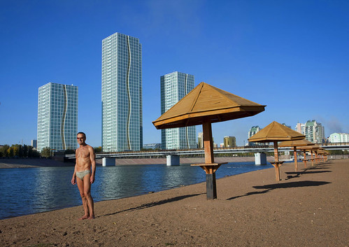 Looking for a place for you next holidays? Beach on Shim river, Astana Kazakhstan