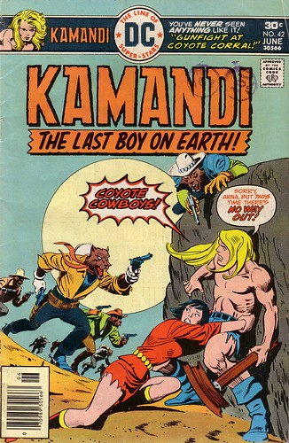 Kamandi, The Last Boy on Earth #42