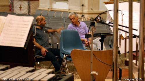 La polvere di Morandi / Giorgio Morandi's Dust | Backstage Soundtrack Recording #12