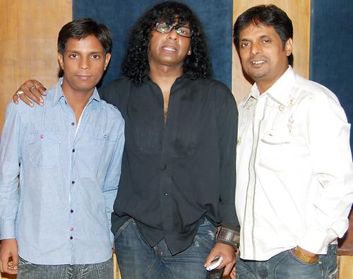 Vinod_Rathod_Damodar_Rao_Amita_Album_Recording12