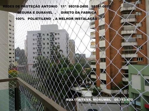Rua Itaiteva, Redes de Proteção no Morumbi, 05.713-470 ,    Seja mais um cliente satisfeito e contrate nossos serviços, (11)  5524.7412  / 98391-0505