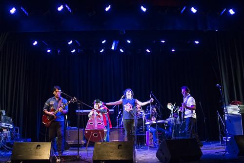 La Sarita en el showcase de música de MICSUR