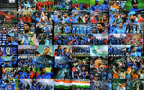 Congratulations Team India on winning the Cricket World Cup 2011