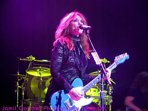 Heart Nancy Wilson Hard Rock Tulsa Jamil GotcherPhotographer2559