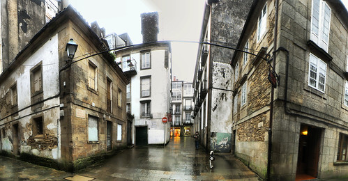 Santiago de Compostela (Galicia, España) HDR