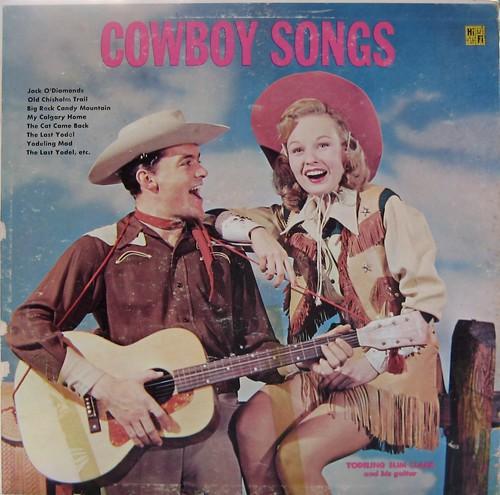 Cowboy Songs  — Yodeling Slim Clark And His Guitar