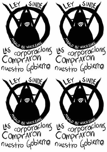 #OPERATIONPAPERSTORM - Ley Sinde: las Corporaciones compraron nuestro Gobierno