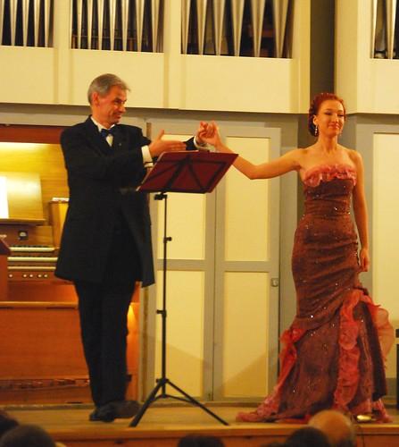 Liubov Belotserkovskaya - Arjan Breukhoven.Organ Festival.2010