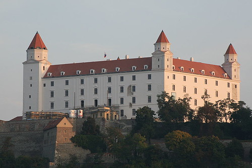 Bratislava Castle 800s - 1700s