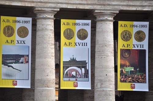 Anni XVII, XVIII e XIX di Pontificato