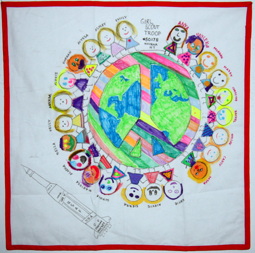 BY Girl Scout Troop 50178 from Massena, New York   Dream Theme - Peace