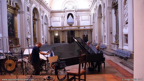 La polvere di Morandi / Giorgio Morandi's Dust | Backstage Soundtrack Recording #19