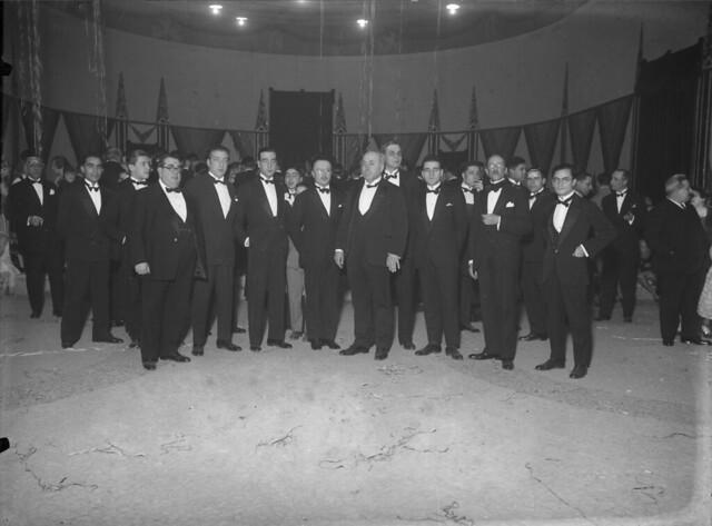 Delegados financeiros da Sociedade das Nações (M. Novais, 1928)