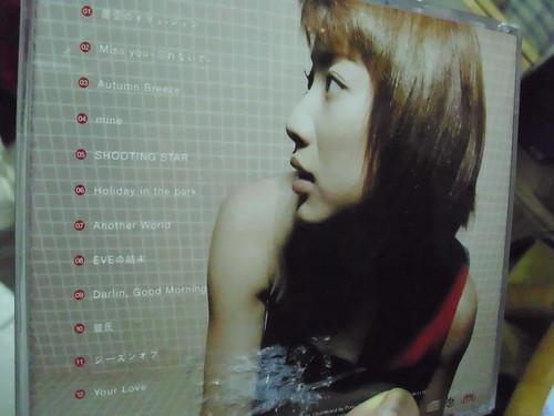 原裝絕版 1999年 八反安未果 Amika Hattan 出道樂壇首張大碟 Autumn Breeze CD 港版 中古品 4
