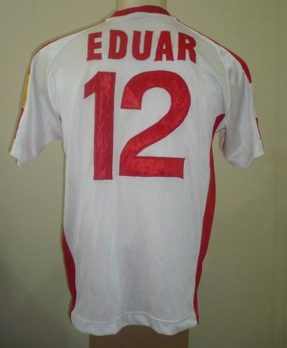 2000 INDONESIA AWAY SHIRT EDUARD IVAKDALAM