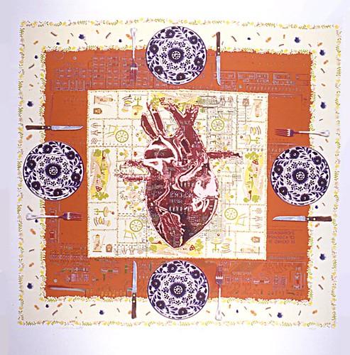 Rolando Briseno_Heart Tablescape