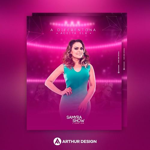 SAMYRA SHOW -  JOB DE ESTUDO - FOTO NÃO OFICIAL